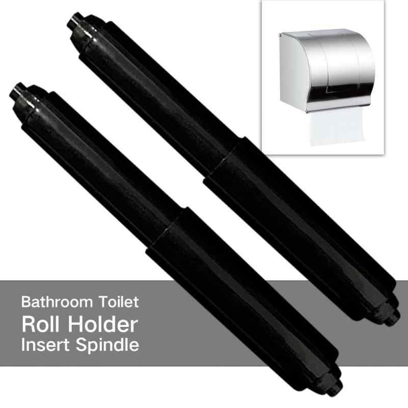2 sztuk rolki PAPIEROWE PUDEŁKO akcesoria papieru i wysuwany uchwyt tkanki pole rdzeń wału wału wiosna uchwyt papier toaletowy