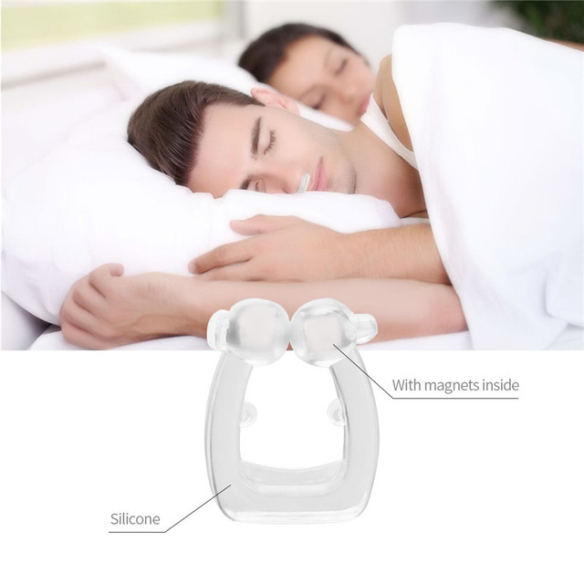 5pcs/lot Anti Snore Nose Clip Health Sleeping Aid Equipment Stop Snoring Relieve Nasal Congestion Mini-snoring Healthy Care 3