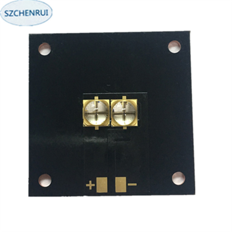The New 20 watts LED <font><b>UV</b></font> violet 6565 365nm 370nm 380nm 385nm 395nm 400nm 405nm 40 * 40MM board image