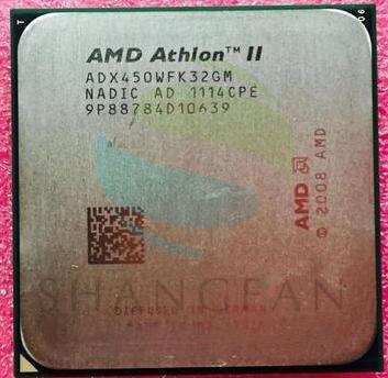 AMD Athlon II X3 450 3.2GHz Triple-Core CPU Processor ADX450WFK32GM Socket AM3 938pin