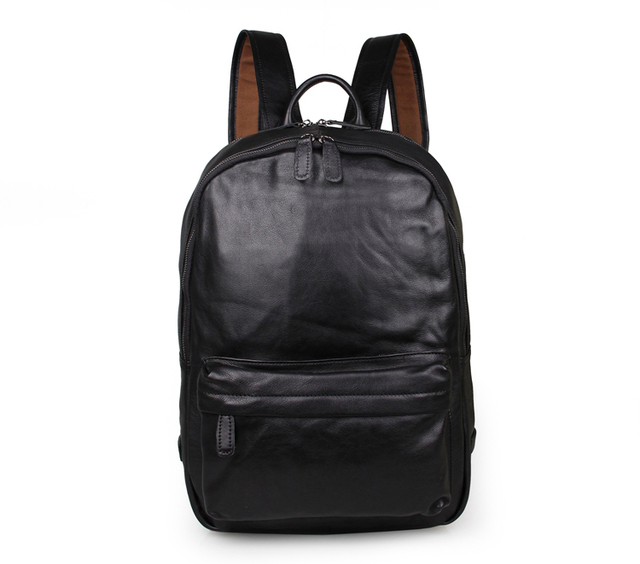 100% Genuine Leather Laptop Backpacks For Teenagers   7273A-in ... 32c94f2997