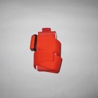 Igoski Ski snowboard easy handbag cross country Ski Pole Shoulder Carrier Strap bag Green and red