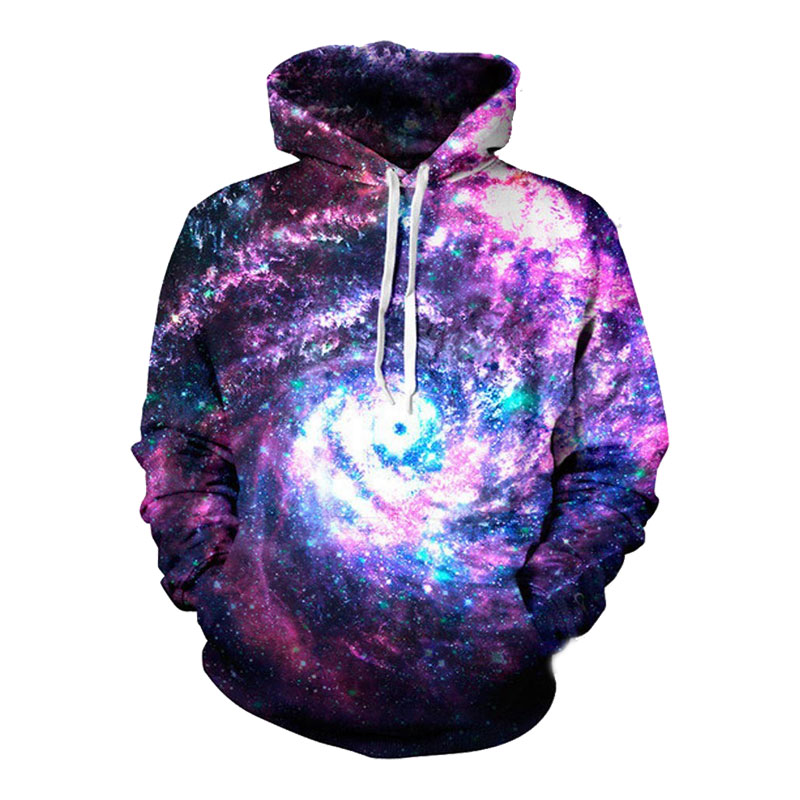 Headbook Raum Galaxy Hoodies Männer/Frauen Sweatshirt Mit Kapuze 3d Marke Kleidung Kappe Hoody Drucken Paisley Nebula Jacke