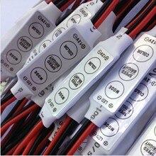 Упаковка из 10 шт. DC12V мини контроллер одного цвета светодиодный диммер, переключатель для 5050 3528 5630 SMD светодиодный полосы и осветительная балка
