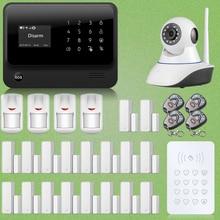 Chuangkesafe G90B WiFi GSM GPRS Sistema de Alarma Autodail 18x Puerta Sensor + Cámara de Red IP