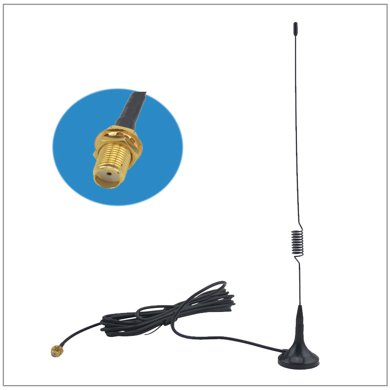 NAGOYA UT-102UV SMA-F Magnetic Vehicle-mounted Antenna for walkie talkie Ken-wood <font><b>TK</b></font> <font><b>3107</b></font> 2107 baofeng UV5R UV-5R bf-888s image