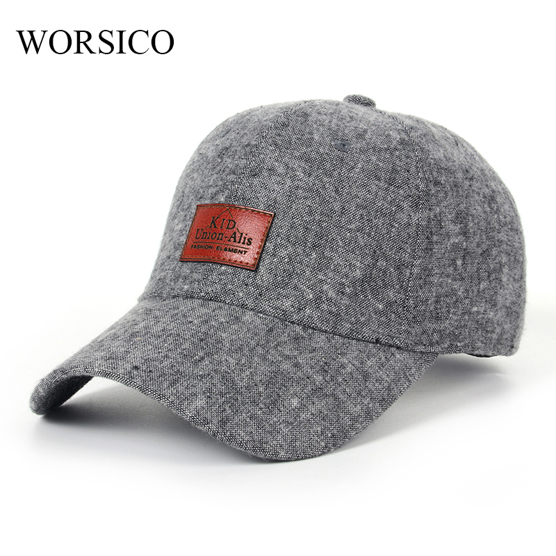 [WORSICO] Hot Sale Summer Autumn Snapback Baseball Cap Men Solid Color Hats For Men High Quality polo Cap Casquette Gorras 2017 new high quality warm winter baseball cap men brand snapback black solid bone baseball mens winter hats ear flaps free sipping