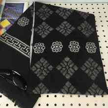 2016 Chic Brand Cashmere Scarf Men Geometric Patchwork Echarpe Design Winter Tartan Bufandas YJWD633