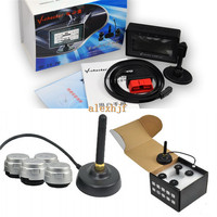 Utility V checkr Diagnostic Trip Computer A301T + TPMS, Data, Fuel Consumption, DTC Cleaning, Fault Alarming, Car OBDII doctor