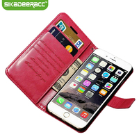 SE19 Multifunction Leather Wallet Phone Cases For IPhone 5s 6 7 Plus SE Mobile Phone Card