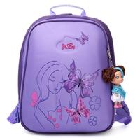New High Quality Orthopedic Waterproof Children School Bags Girls Primary 1 5 Grade School Backpack Kids