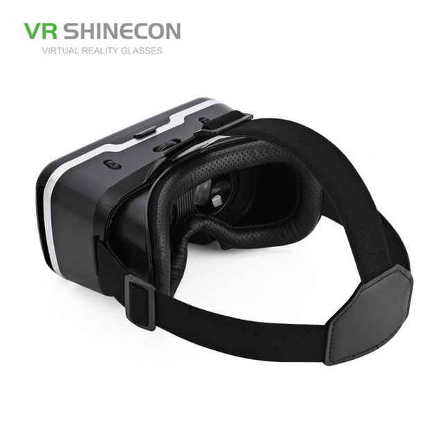 VR SHINECON G04 Virtual Reality Headset 3D VR Glasses for 4.7-6.0 inches Android iOS Smart Phones 2