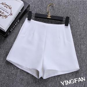 Image 4 - 2020 New Summer hot Fashion New Women Shorts Skirts High Waist Casual Suit Shorts Black White Women Short Pants Ladies Shorts