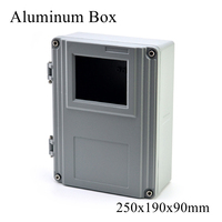 FA15 1 250x190x90mm IP65 Waterproof Terminal Metal Aluminum Junction Box Electronic Project Enclosure Instrument Case Outdoor