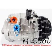 New PV5 10S17C Auto AC Compressor For BMW X5 4.4 4.6 4.8 2000-2004 64526909628 64526921654 6452915803 6909628 6921651 9158039