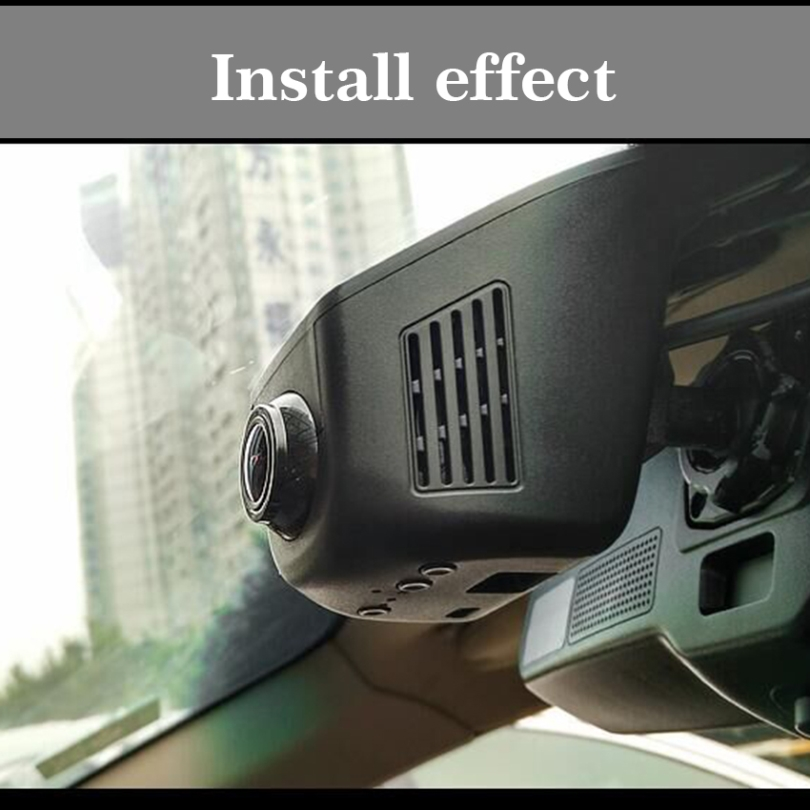 Car Driving Video Recorder Mini DVR Wifi Camera Black Box / Novatek 96658 FHD 1080P Dash Cam Original Style / For Toyota Tacoma modern chinese classical wallpaper flower floral home tv bedroom background hotel restaurant entrance living room wall paper
