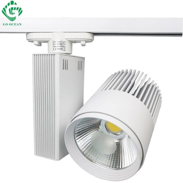 track rail lighting. go ocean track lights modern kitchen clothing aluminum led light 40w rail lighting systems w