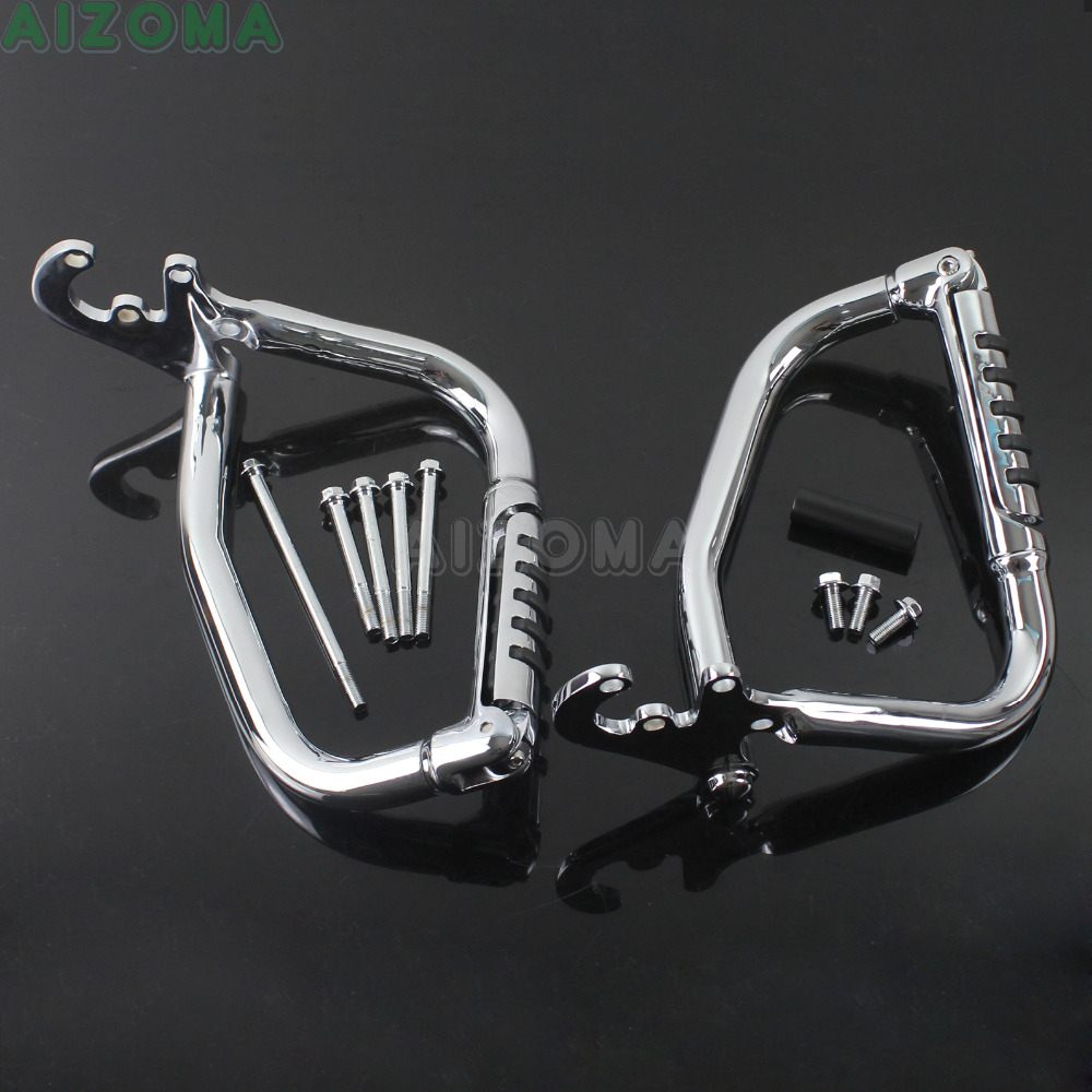 1 Set Motorcycle Engine Guard Highway Crash Bar For Honda VTX1800 VTX 1800R 1800C 1800F 1800N 1800S 1800T 2002 2008 2003 2006 in Covers Ornamental Mouldings from Automobiles Motorcycles