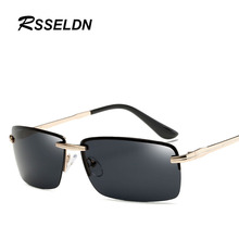 RSSELDN Brand Sunglasses for Men Glasses Accessories Polarized Lens Glasses Alloy Sun glasses S905