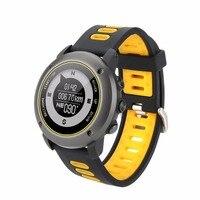Профессиональный gps Спорт на открытом воздухе Смарт часы UW90 наручные Спорт IP68 Водонепроницаемый плавание сердечного ритма Фитнес трекер Дл
