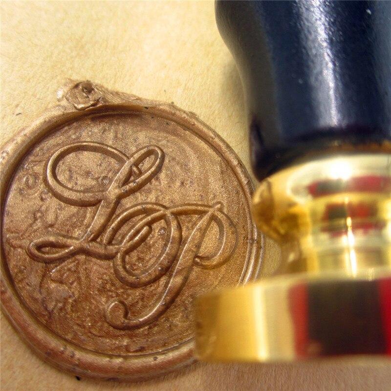 A-Z Custom Make Design Logo Name Date Wedding Initials Wax Seal Stamp Gift Toy
