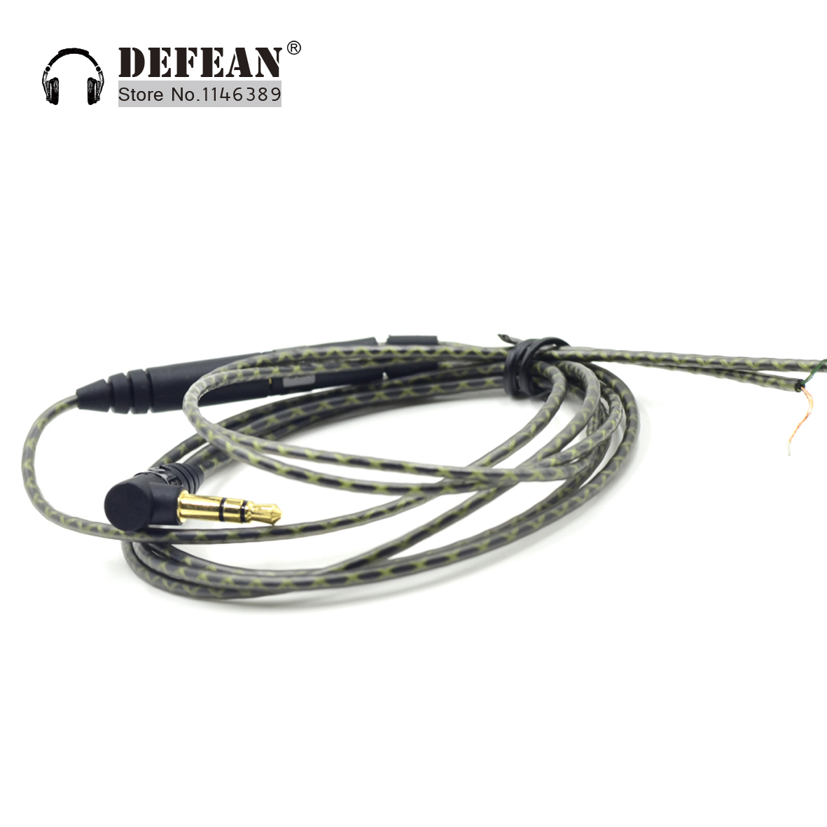 replacement extension stereo audio cable cord for