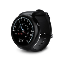 2017New I4 Smart Watch RAM 1GB+ROM16GB PK LES1 VS115 Smartwatch MTK6580 Quad Core 3G Watch Phone BT WiFi GPS For IOS&Android