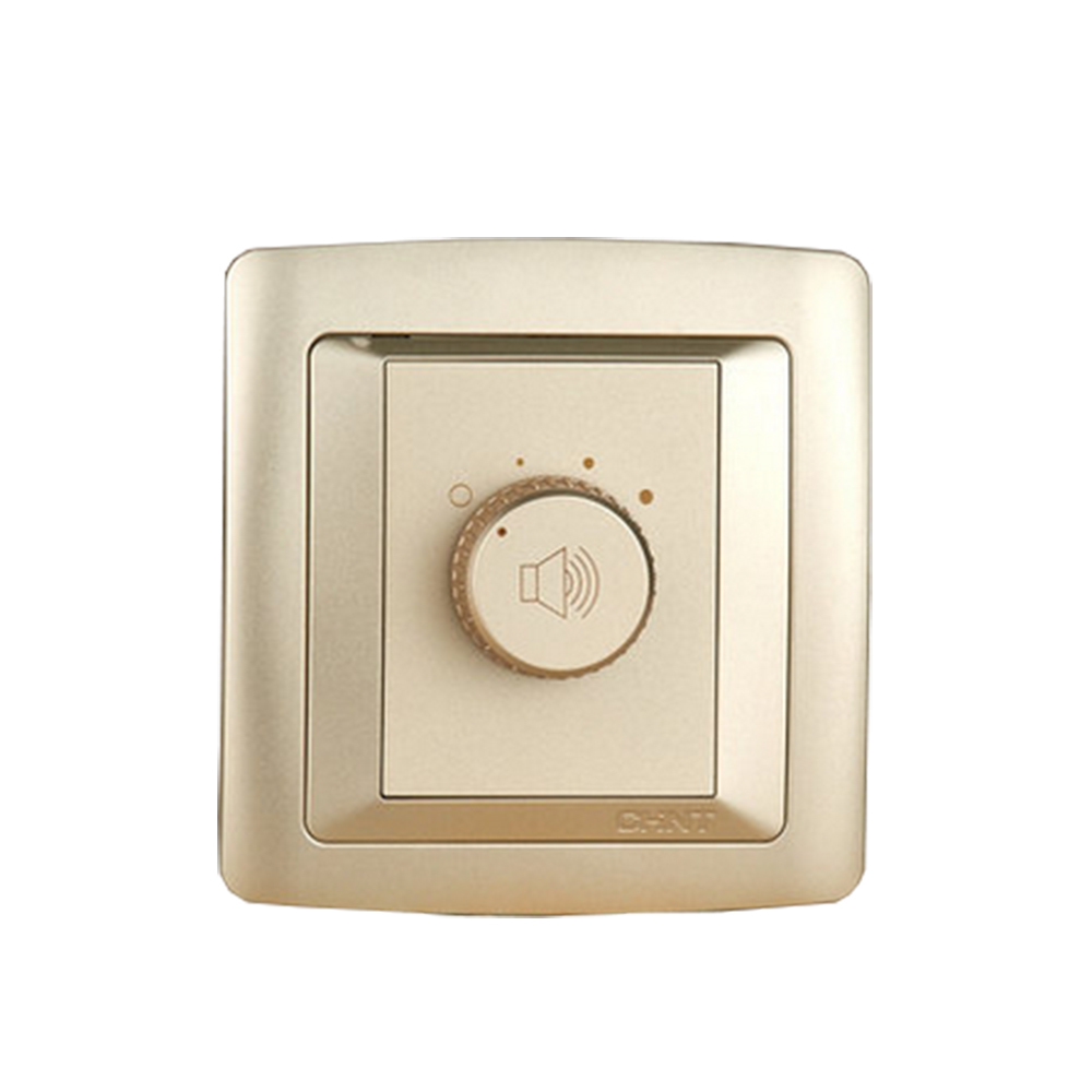Chint New2k Tuning Switch Light Champagne Gold Speed