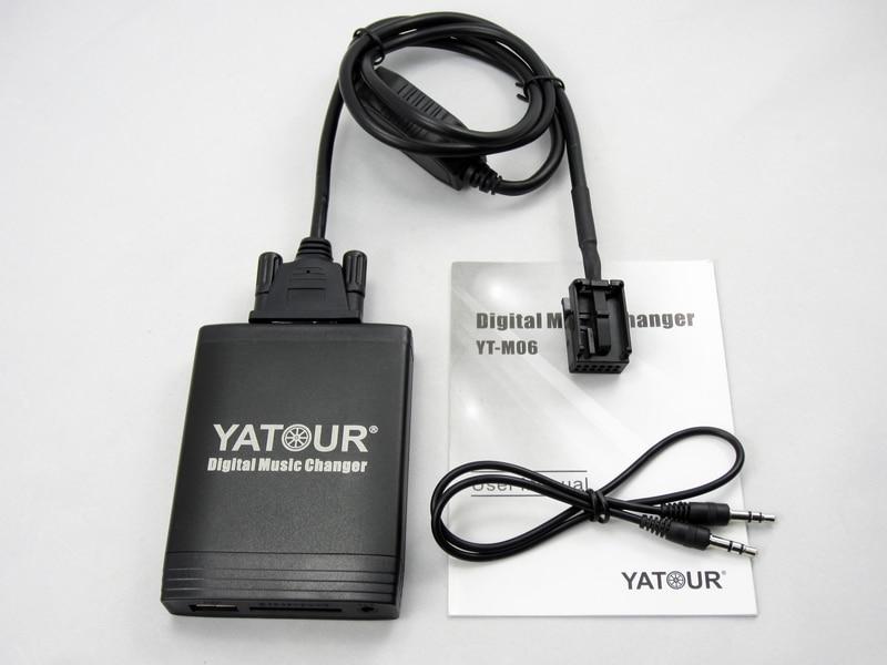 Автомобильный цифровой музыкальный адаптер USB SD Aux MP3 интерфейс автомобиля стерео радио для BMW1 Bluetooth телефон плесень и контроллер вариант - 6