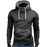 Men S Sweatshirt 2017 Slim Hoodies Men Sweatshirt Long Sleeve Pullover Hooded Sportswear Men S Embroidery