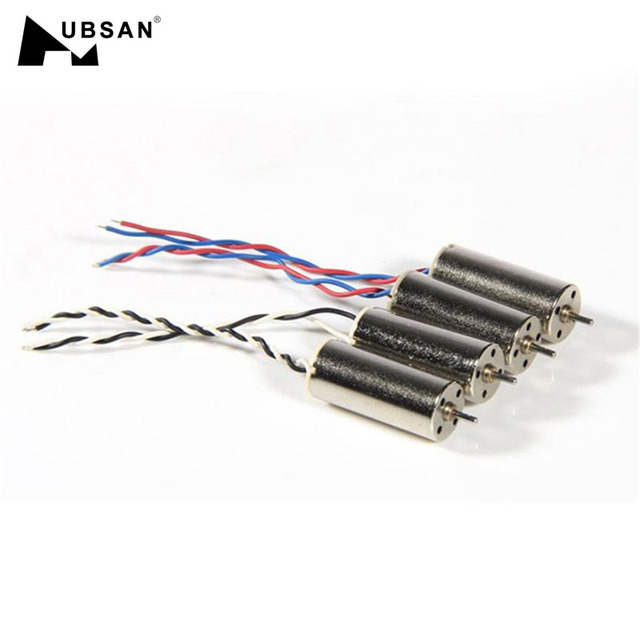 Hubsan H107L Spare Part Accessories Upgraded Version 2 x 7mm Hollow Cup Motor For RC Drone Quadcopter FPV Accs