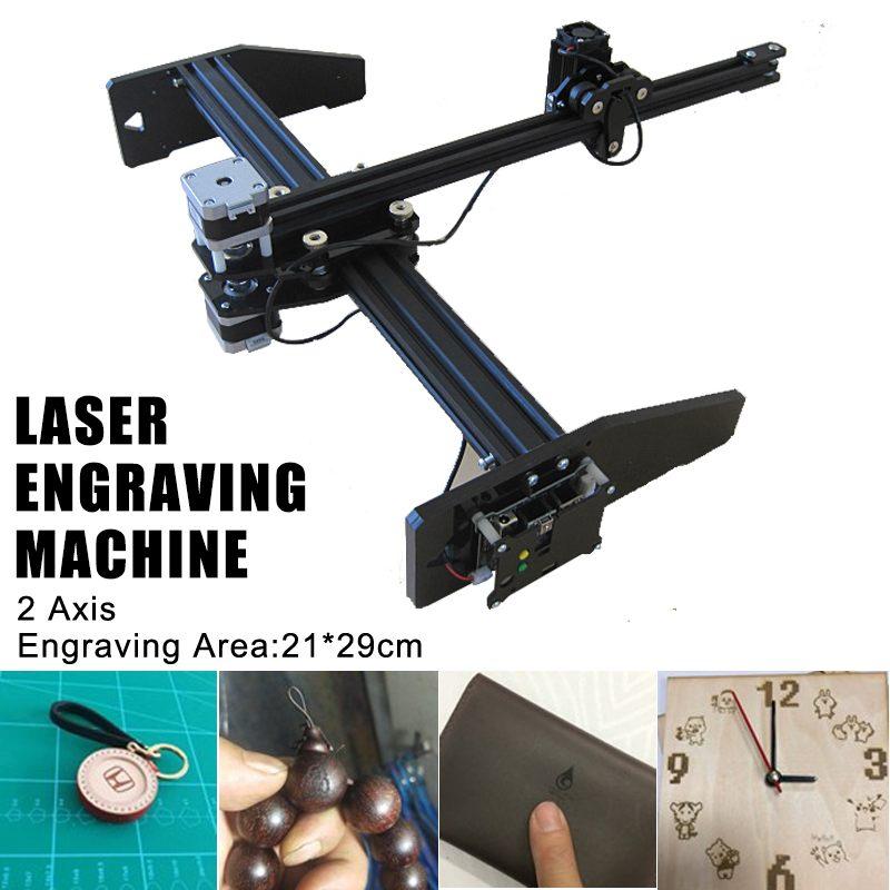 300 MW/2500 MW XY 2 axes CNC de tirage dessin Laser Machine de gravure stylo traceur Robot Auto écrire 21*29 cm