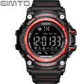 GIMTO Digital Sport Watch Military Bluetooth Smart Watch Men Shock Waterproof Diving LED Electronic Wrist Watch For IOS Android