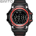 Gimto digital deporte militar reloj bluetooth smart watch hombres choque de buceo impermeable led reloj de pulsera electrónica para ios android