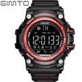 Gimto digital deporte militar reloj bluetooth smart watch hombres choque de buceo impermeable led reloj de pulsera electrónica para ios android