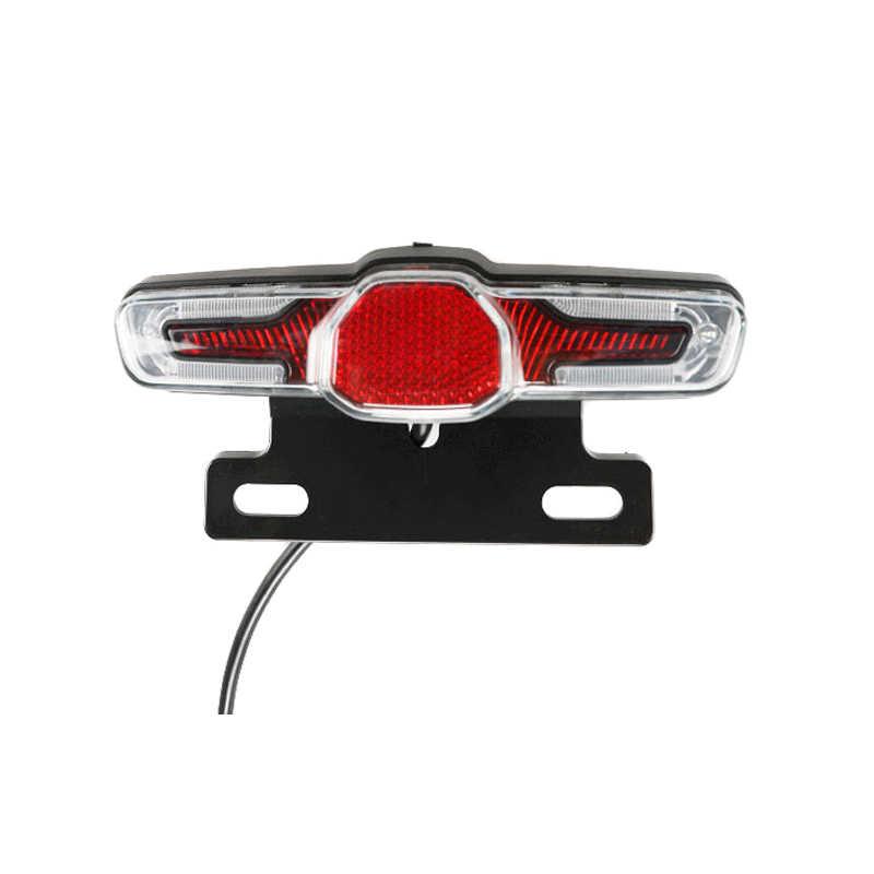 Newly LED Taillight Indicator Brake Light 36V-48V for E-Bike Electric Bicycle 19ing