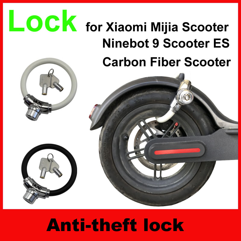 Aliexpress Com   Buy Xiaomi Electric Scooter Lock Portable Bag Hook Aluminum Couple Scooter Lock