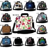 15 Soft Neoprene Laptop Shoulder Bag Case Sleeve+Handle For IBM Lenovo HP Dell Sony Acer