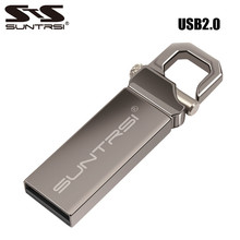 Suntrsi 32GB USB Flash Drive 64GB 16GB Pen Drive memoria usb stick 8GB 4GB Pendrive Stainless