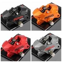 Universal RPM Motorcycle 84mm Rear CNC Brake Caliper For Ducati ApriliaSuzuki Kawasaki YZF R1 06 14 GSXR1000 07 14 ZX 10R 08 10