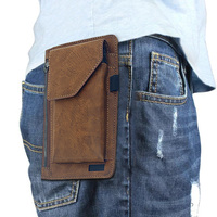 Fashion Man S Waist Wallet Universal Phone Waist Bag Pouch For 6 3 Inch Mobile Phone