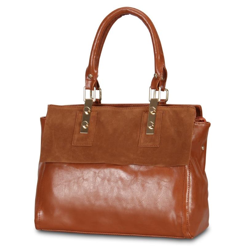 2017 Large Capacity Ladies Handbags Designer Brands Women Shoulder Messenger Bags Fashion Patchwork Leather Tote Bags Crossbody