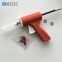 10cc 10 мл пластиковый паяльный флюс-пистолет/шприц-пистолет для зеленого масла/шприц для пайки