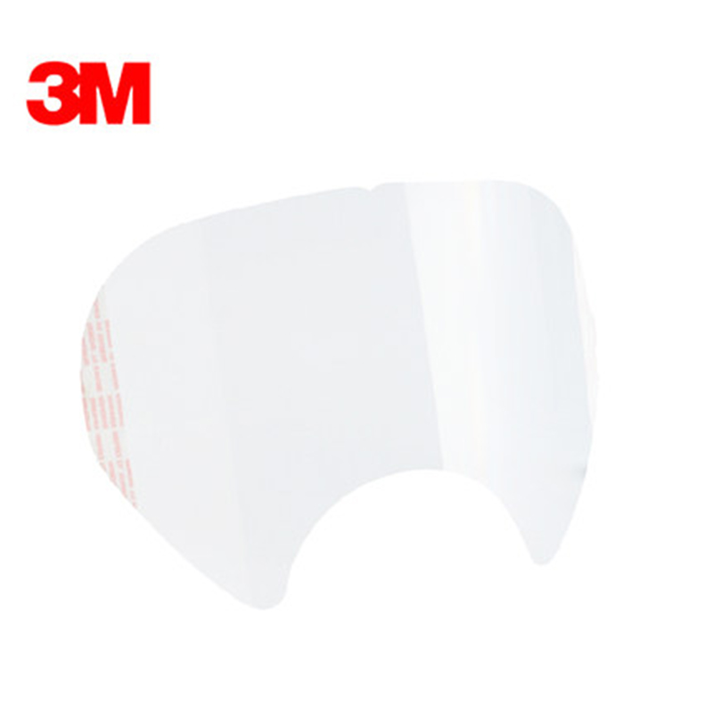 SJL 6885 protective film with 3M <font><b>6800</b></font> respirator lens cover -25pcs / bag and 3M 6885 size is the same as the same free shipping image