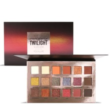 FOCALLURE 18 Colors Eyeshadow Palette Glamorous Smokey Eye Shadow  Long Lasting Shimmer Makeup Kit