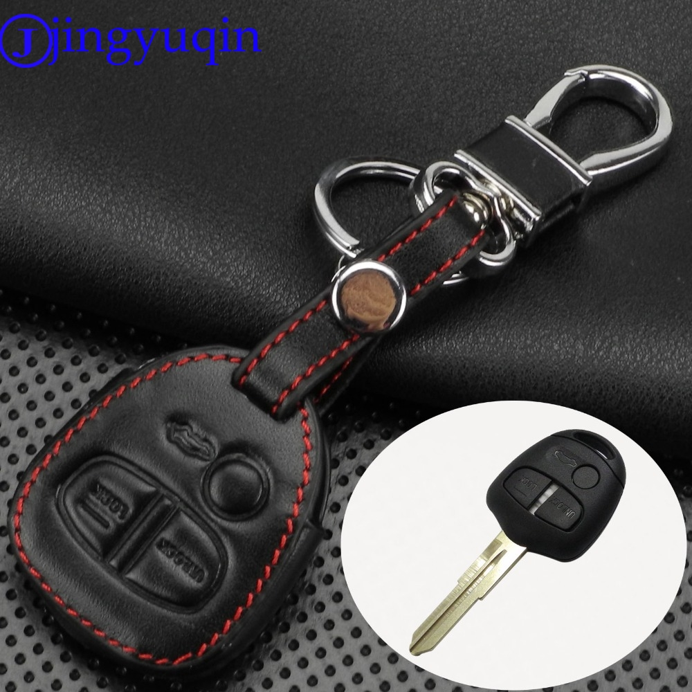 Blue DKM International DKMUS Premium Quality Genuine Leather Hand Sewed Protective Key Cover FOB Shell for Ford LINCOLN MERCURY Car Keys Chain