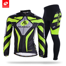 цена на Nuckily winter Hot selling men's winter good quality fleece long cycling sets   ME009MF009