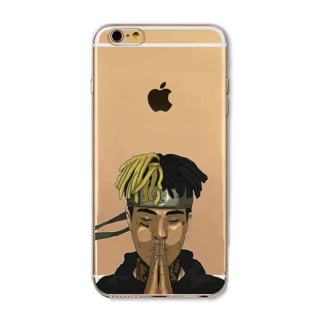 Xxxtentacion Transparent Soft TPU Silicone Phone Case Cover Fundas Coque For iphone 6 S 7 7Plus 6S 6Plus 8 8Plus X 5 S 5S SE