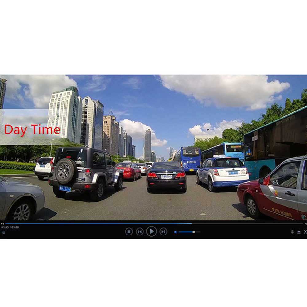 Mini Car Camera Dual Lens Car DVR Dash Cam HD 1080p 170 Wide Angle With G-Sensor WDR Loop Recording And Night Vision 10