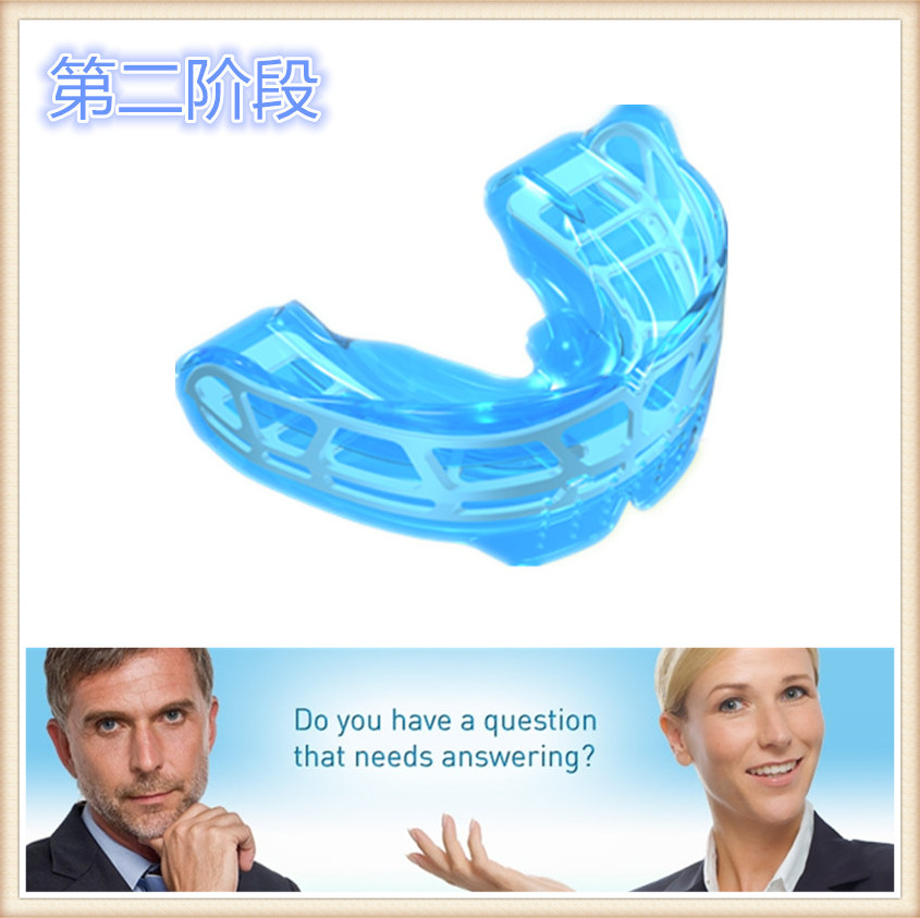 Teeth Trainer appliance K2 Blue/Myobrace Teeth Trainer K2/Dental Orthodontic teeth trainer K2 Blue